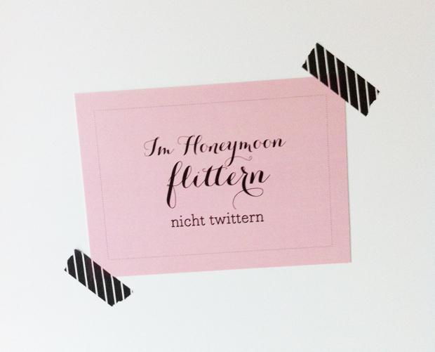 Rede & Reim, Hochzeitspostkarte
